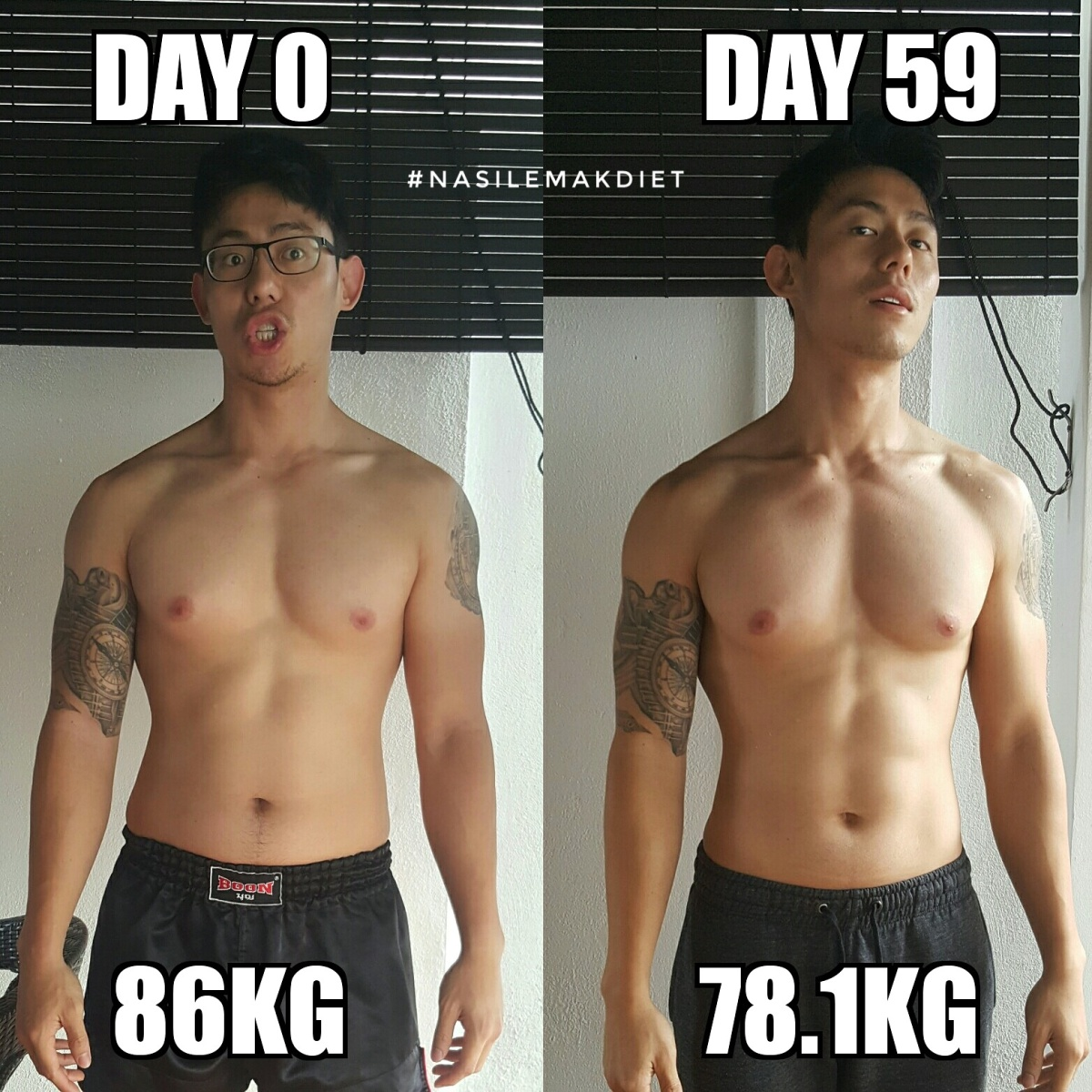 60 days of #NasiLemakDiet Later...